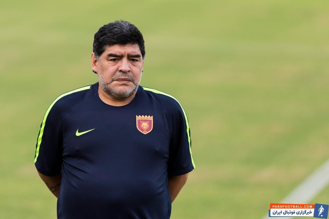 اظهارنظر عجیب مارادونا: امیدوارم دست خدا ما را از کرونا نجات دهد