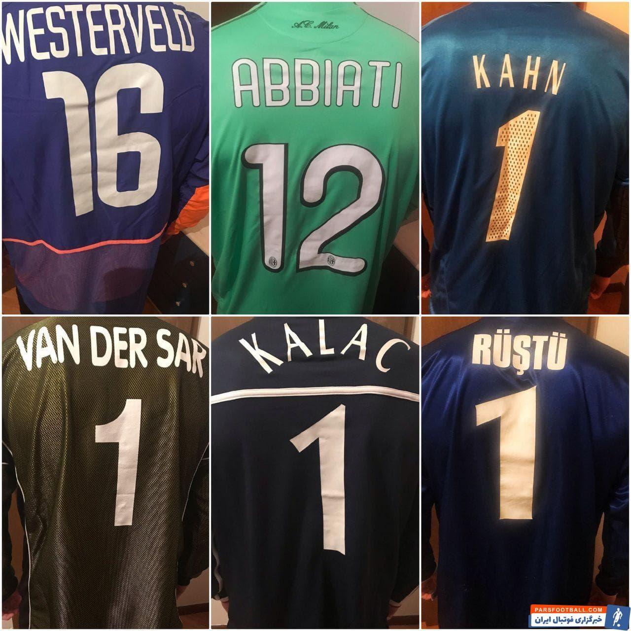 رادوشوویچ دروازهبان تیم فوتبال پرسپولیس که این روزها دوره قرنطینه و تعطیلی فوتبال را در کشورش کرواسی سپری میکند، تصاویری را از کیت هایی منتشر کرده.