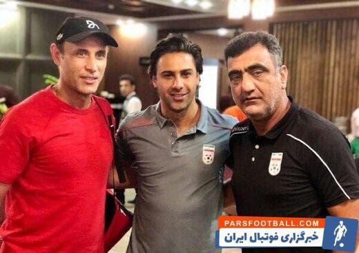 فرهاد مجیدی-یحیی گل محمدی-اینستاگرام کنفدراسیون فوتبال آسیا