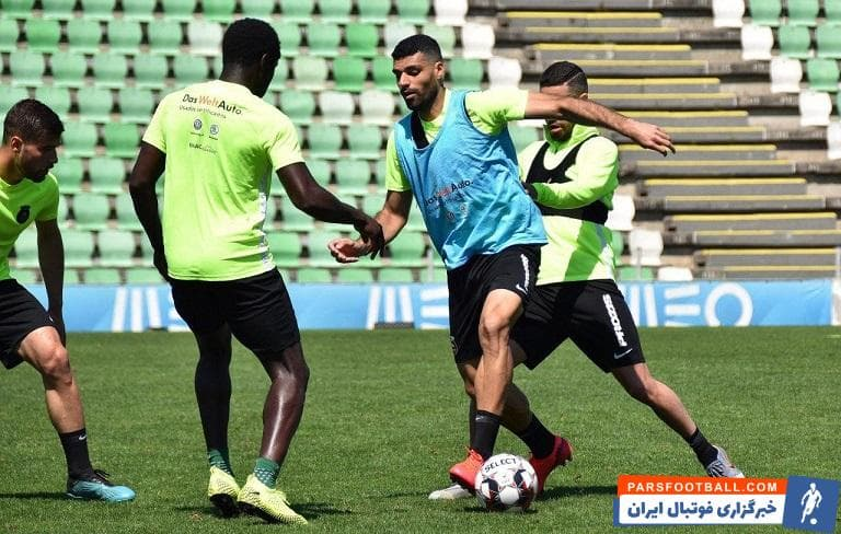 طارمی که در ۲۰ بازی این فصل لیگ برتر پرتغال موفق به زدن ۸ گل و دادن یک پاس گل شده، در جلسه تمرینی امروز تیمش با انگیزه زیادی حاضر شد.