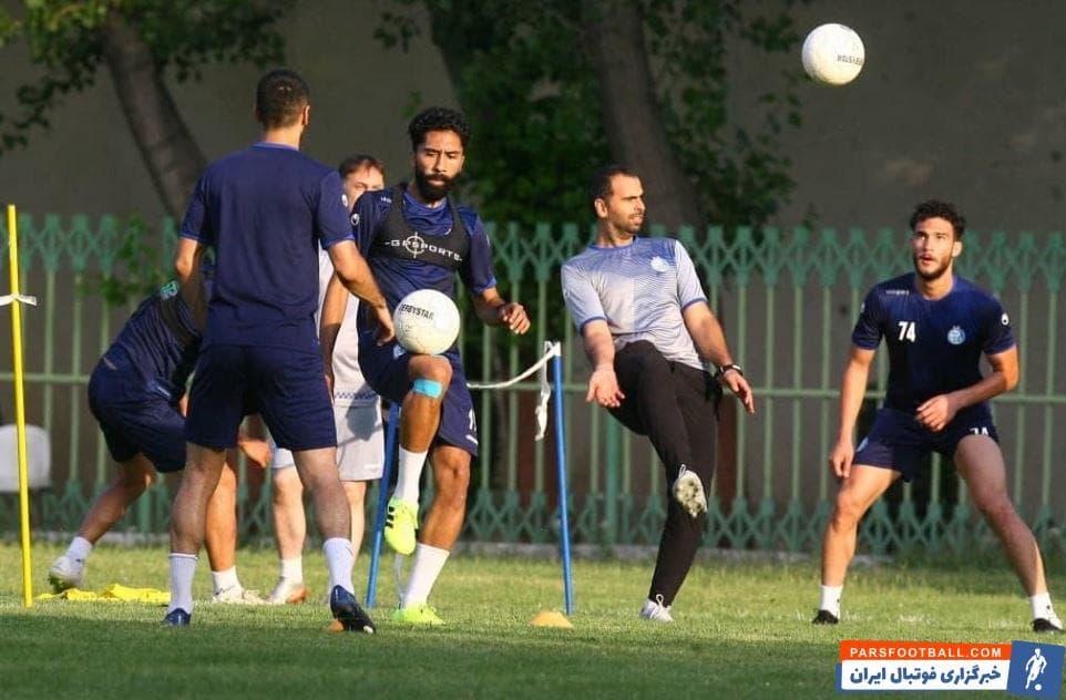 فرشید باقری هافبک استقلال با تمریناتی که در تعطیلی لیگ برتر انجام داده است تلاش کرده مصدومیت خود را تا حد زیادی درمان کند.