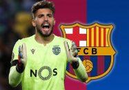 بارسلونا به دنبال دروازهبان اسپورتینگ