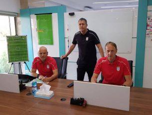 آنتون یوسنیک و املادن زانجر دو دستیار خارجی اسکوچیچ امروز بعد از ماهها انتظار سرانجام به تهران رسیدند تا کار خود را در تیم ملی آغاز کنند.