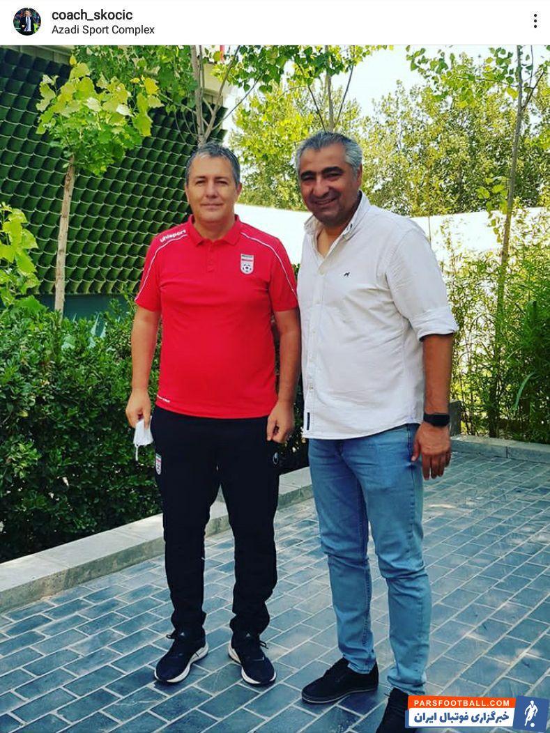 ساکت که خوب می دانست امکان سفر اسکوچیچ به تبریز در دوران کرونایی وجود ندارد ترجیح داد خودش با حضور در کمپ تیم های ملی به اسکوچیچ دیدار کند.
