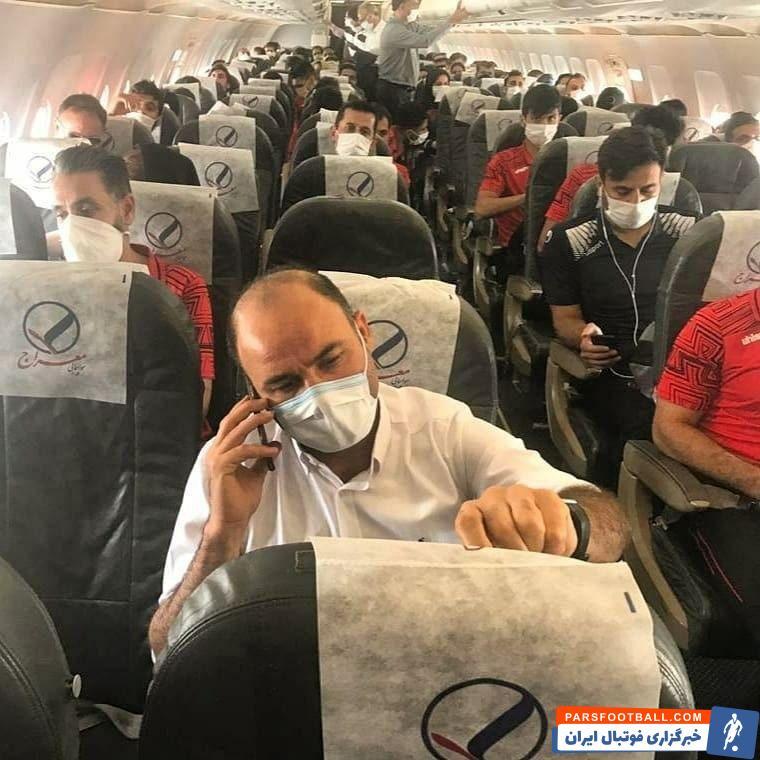 با هماهنگی مسئولان باشگاه شهرخودرو با ایرلاین مسیر پروازی به عسلویه، قسمت جلوی هواپیما به صورت کامل در اختیار کاروان شهرخودرو قرار گرفت.