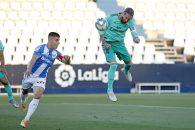 تنها 9 دقیقه از بازی رئال مادرید و لگانس گذشته بود که سرخیو راموس روی سانتر ایسکو و با ضربه سر توانست دروازه لگانس را در ال بوتارکه باز کند.