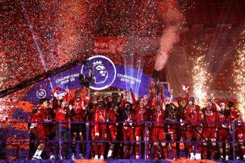 قهرمانی لیورپول در لیگ برتر