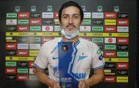 سردار آزمون مهاجم ایرانی زنیت گفت: هدف اول من قهرمانی زنیت در لیگ بود که به آن رسیدم و اکنون هدف بعدی قهرمانی در جام حذفی است.