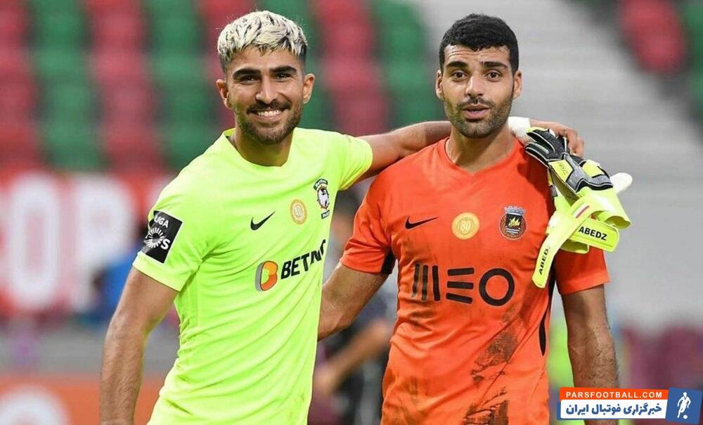 هر چند جدال تیمهای طارمی و عابدزاده در پرتغال برنده ای نداشت اما از این دیدار یک عکس یادگاری جالب از طارمی و عابدزاده به جای ماند.