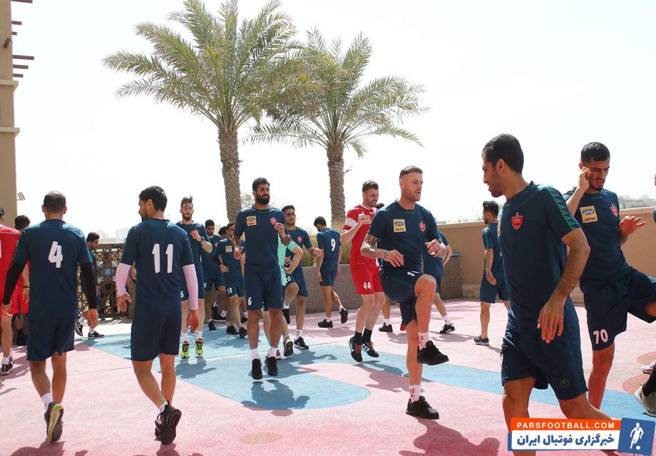 زمان اردوی پرسپولیس برای بازی مقابل استقلال در دربی نیمه نهایی جام حذفی مشخص شد.