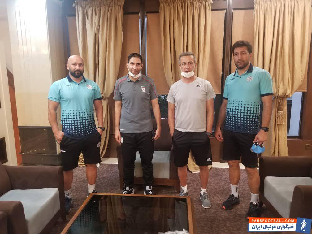 تیم محسن عاشوری به منظور بازی با تیم هوادار رقابت های فوتبال قهرمانی دسته اول باشگاه های کشور به تهران سفر کرده ودر هتل المپیک اسکان دارد.
