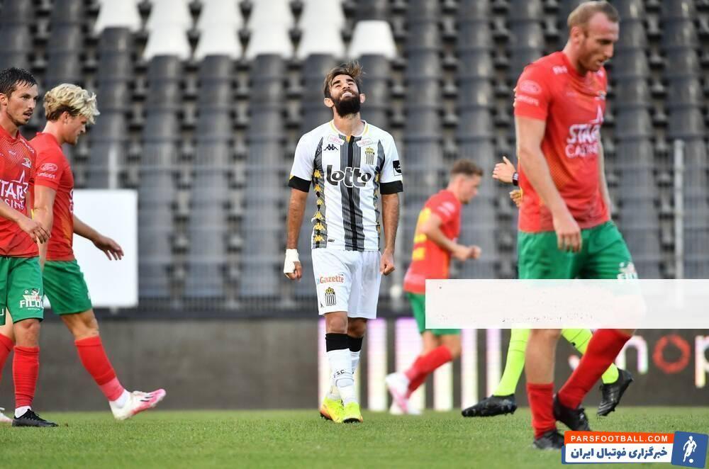 قلی زاده وینگر ایرانی و 24 ساله تیم شارلروا در دو بازی اول تیمش در ترکیب این تیم عملکرد درخشانی داشته است.