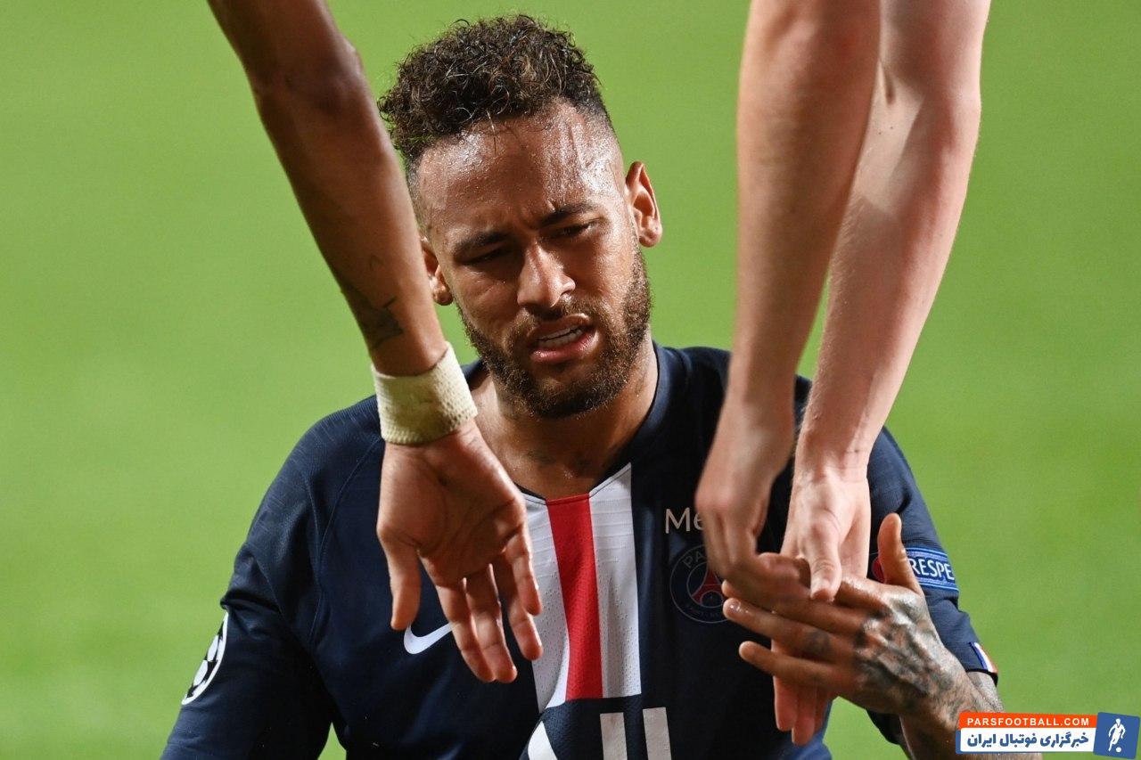 نیمار فوق ستاره پاریسیها در شب صعود تیمش به مرحله فینال لیگ قهرمانان اروپا در آرزوی ثبت یک گل سالم ماند و دست خالی میدان را ترک کرد.