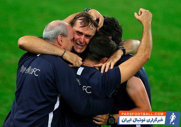 بعد از مدتی استراحت، خولن لوپتگی هدایت سویا را بر عهده رفت و امشب موفق شد با برتری 2-3 برابر اینتر به عنوان قهرمانی لیگ اروپا دست یابد.