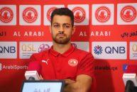 مرتضی پورعلی گنجی مدافع ایرانی تیم فوتبال العربی