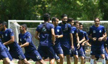 آخرین تمرین تیم فوتبال استقلال برای آماده سازی دیدار مقابل شهر خودرو مشهد از ساعت ۱۲ امروز (چهارشنبه) در مجموعه انقلاب برگزار شد.