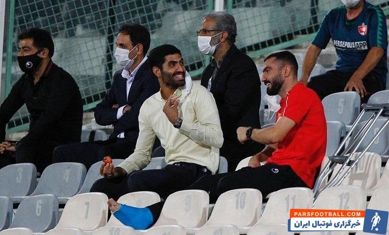 به نقل از سایت رسمی باشگاه پرسپولیس، استخوان کف پای محسن ربیع خواه آسیب دید و این بازیکن مجبور شد پای خود را گچ بگیرد.