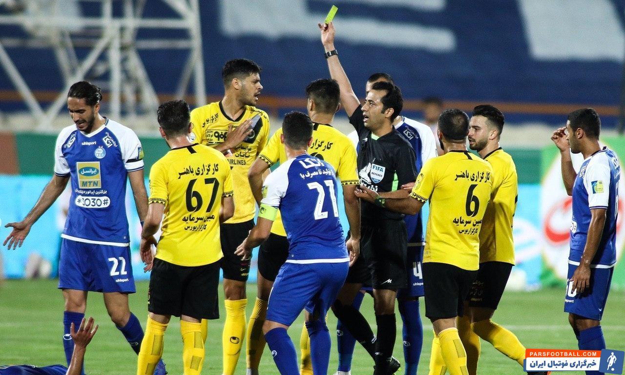 در شرایطی که عنوان شد علی کریمی در دیدار با سپاهان کارت زرد گرفته اما این بازیکن امشب کارت زردی از داور نگرفته است.