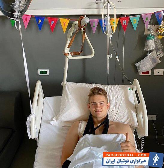ماتایس دیلیخت ، مدافع هلندی یووه در ابتدای فصل جاری از ناحیه کتف مصدوم شد، ولی عمل جراحی انجام نداد تا فصل به پایان برسد.