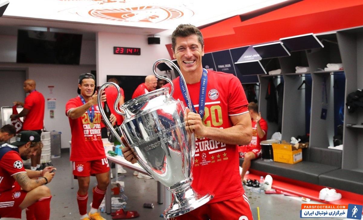 لواندوفسکی هم با ۱۵ گل آقایگل شد و هم موفق شد برای نخستین مرتبه در لیگ قهرمانان اروپا همراه بایرنمونیخ به جام برسد.