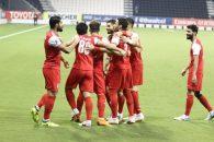 پرسپولیس و الشارجه در ورزشگاه جاسم بن حمد قطر