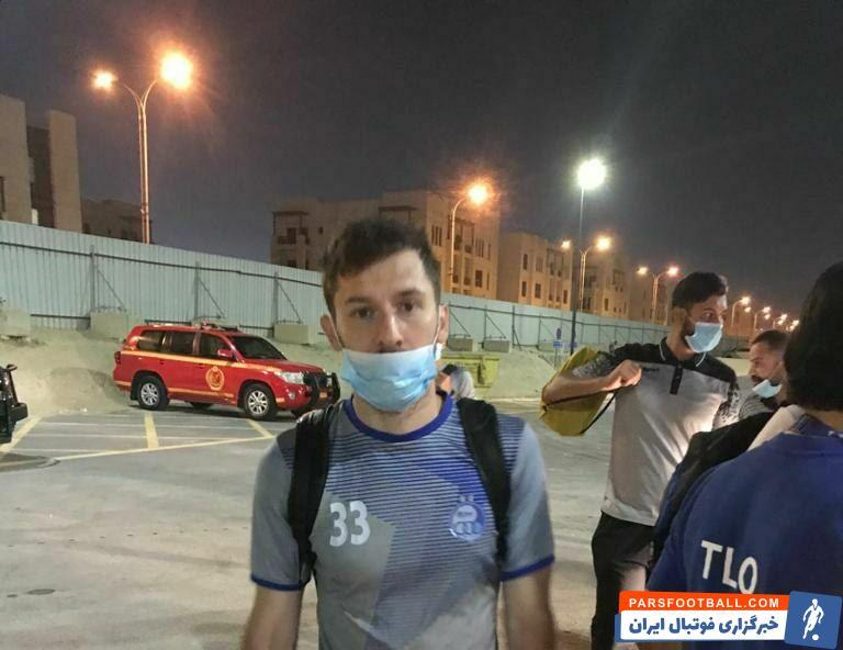 هرویه میلیچ مدافع چپ پای کروات استقلال که بعد از فینال حذفی چند روزی به مرخصی رفته بود، برای سفر به قطر با مشکلاتی مواجه شد.