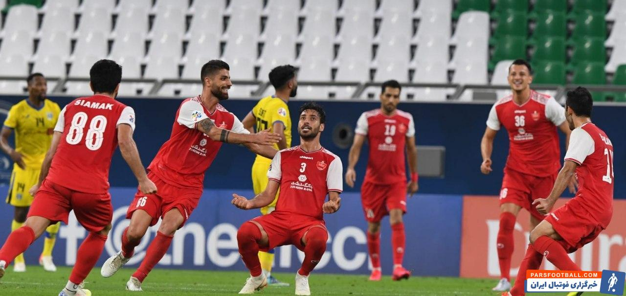 مهم ترین خبری که در خروجی وبسایت رسمی کنفدراسیون فوتبال آسیا قرار داشت، پیروزی پرسپولیس مقابل التعاون با عکسی خاص از شجاع خلیل زاده بود.