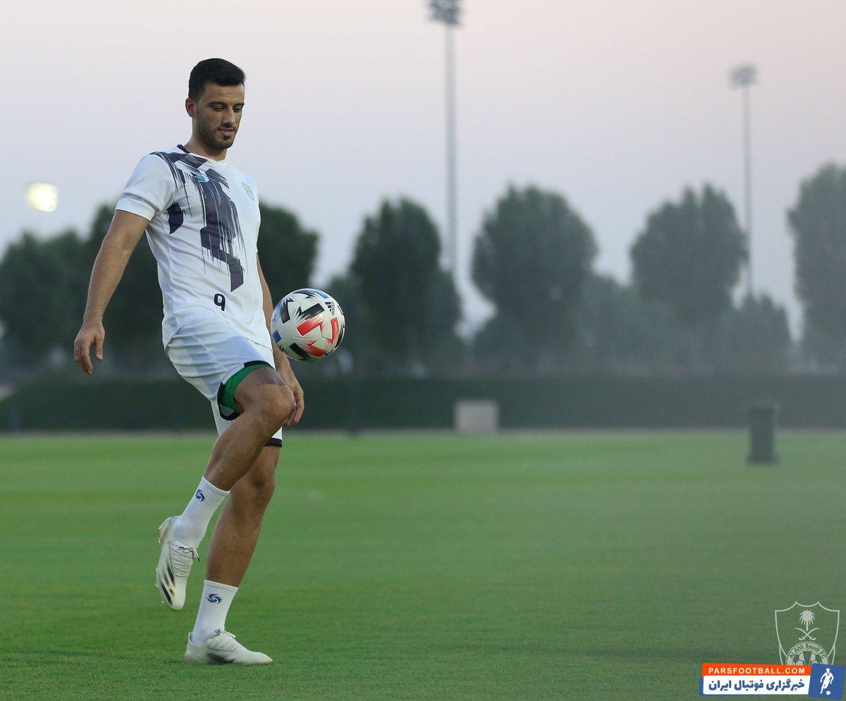 میلوویچ تصمیم گرفته است تا برای حفظ آمادگی بدنی تیمش در مرحله یک هشتم نهایی، در بازی با استقلال به عمر السومه ، مهاجم سوری اش استراحت دهد.