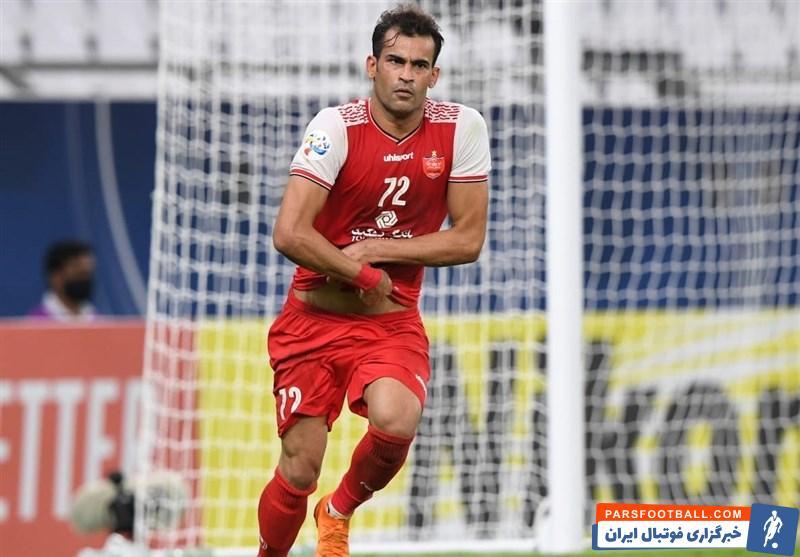 عیسی آل کثیر مهاجم پرسپولیس بهترین بازیکن مرحله یک هشتم نهایی لیگ قهرمانان آسیا 2020