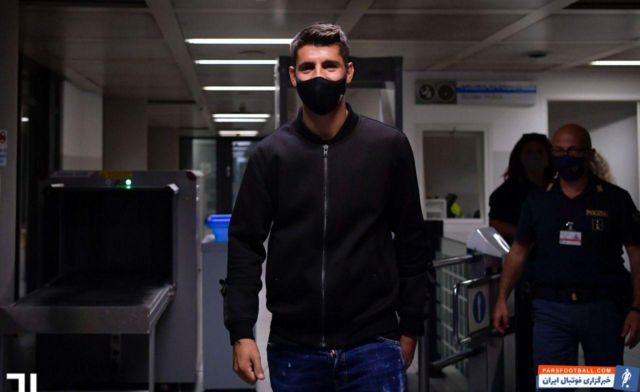 آلوارو موراتا مهاجم اتلتیکومادرید به تورین سفر کرد تا رسماً برای مرتبه دوم پیراهن یوونتوس را بپوشد موراتا قرار است قرارداد قرضی امضا می کند.