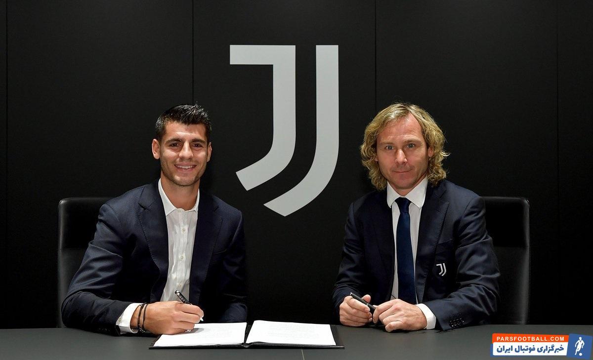 آلوارو موراتا با قراردادی یک ساله و قرضی که ۱۰ میلیون یورو برایش پرداخت شده، با بند خرید قطعی ۴۵ میلیون یورویی به یوونتوس پیوست.