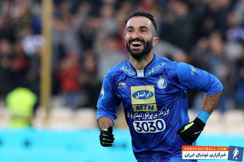 خوشحالی ستاره استقلال از بازگشتش به میادین فوتبال