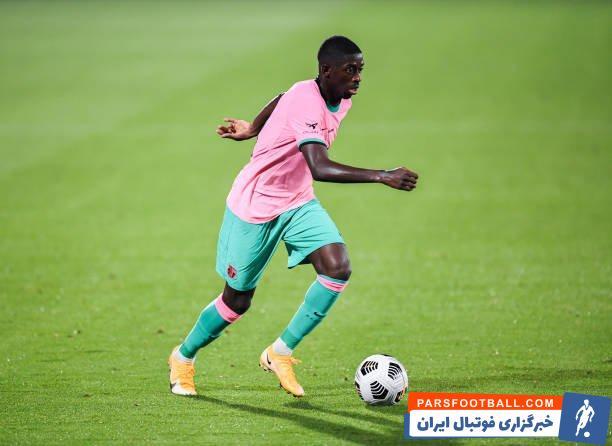 بارسلونا مذاکره با منچستریونایتد برای عثمان دمبله را تکذیب کرد