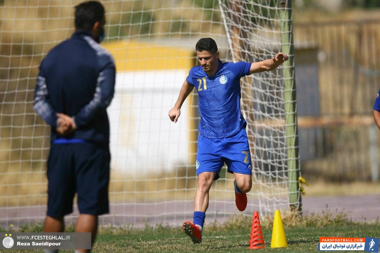 وریا غفوری که در آخرین دیدار استقلال در مرحله گروهی لیگ قهرمانان آسیا از ناحیه همسترینگ دچار مصدومیت شده بود، نتوانست آبی پوشان