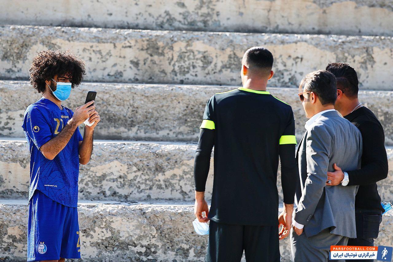 در حاشیه دیدار روز گذشته استقلال و نفت مسجد سلیمان اتفاق جالبی در خصوص بابک مرادی یکی از بازیکنان جدید استقلال رخ داد.