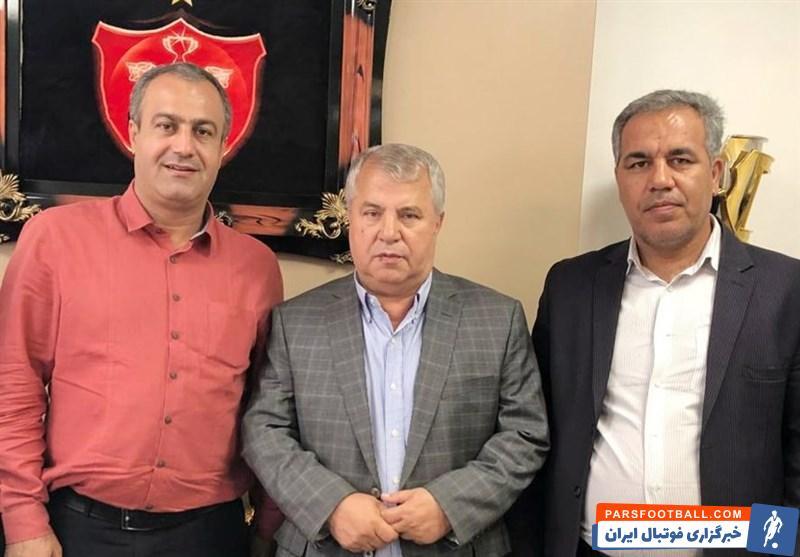 علی پروین در هیئت مدیره پرسپولیس