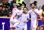 پیروزی ملیپوشان فوتسال ایران مقابل ازبکستان
