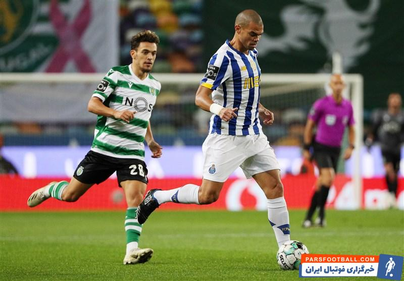 لیگ برتر پرتغال| تساوی پورتو برابر اسپورتینگ ۱۰ نفره