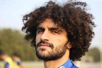 یا بازیکن جدیدی همچون بابک مرادی که مدل موی مختص به خودش را دارد و در تمرین روز گذشته سوژه عکاس باشگاه استقلال شد....