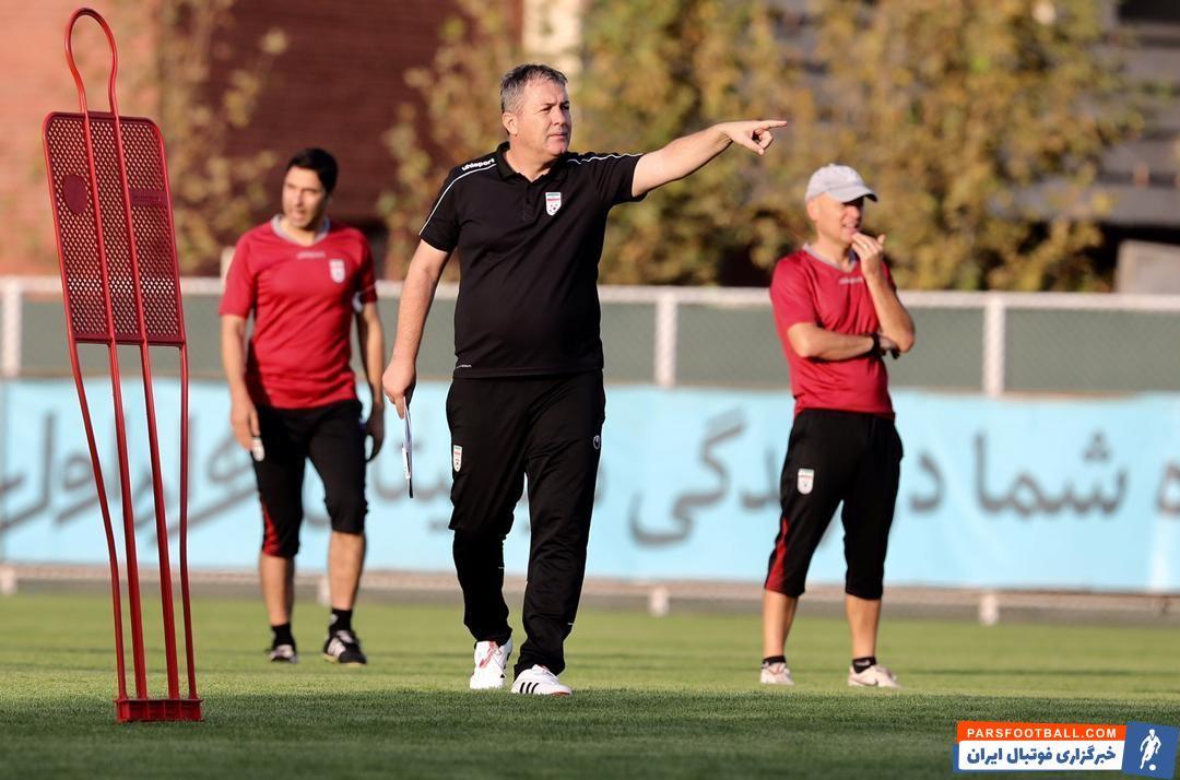 اردوی تیم ملی ایران و تلاش دراگان اسکوچیچ پا به پای بازیکنان