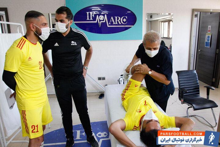 اعضای تیم فوتبال تراکتور صبح امروز (پنجشنبه، یک آبان) با حضور در ساختمان ایفمارک در تستهای پزشکی شرکت کردند.