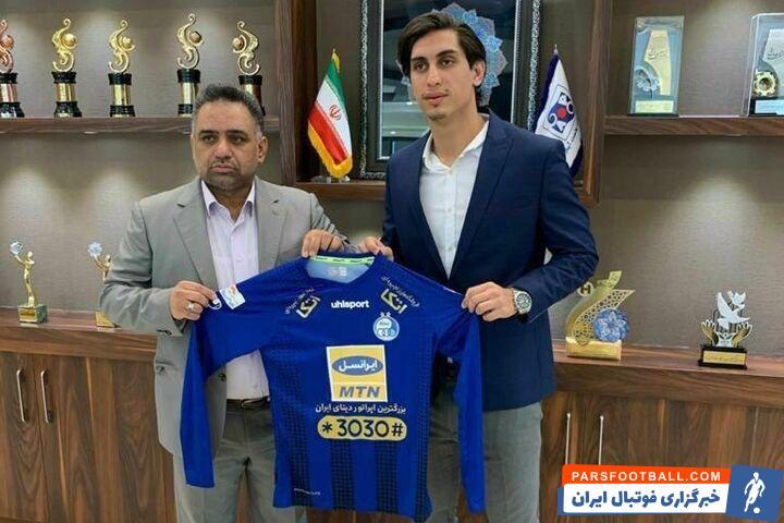 مهدی عبدیان یکی از اعضای هیات مدیره استقلال که گفته بود دیگر در نقل و انتقالات فعالیت ندارد، برگشت و در کنار بازیکن جدید این تیم عکس گرفت.