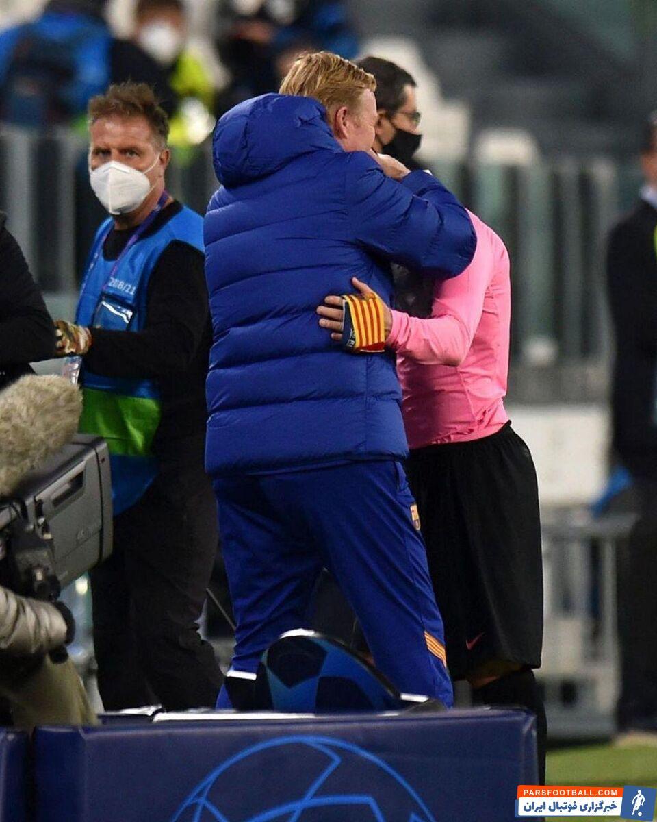 لیونل مسی و رونالد کومان یکدیگر را بهآغوش کشیدند تا فصل روابط تار آنها به سر آید و روزهای بهتری در انتظار تیم و طرفدارانشان باشد.