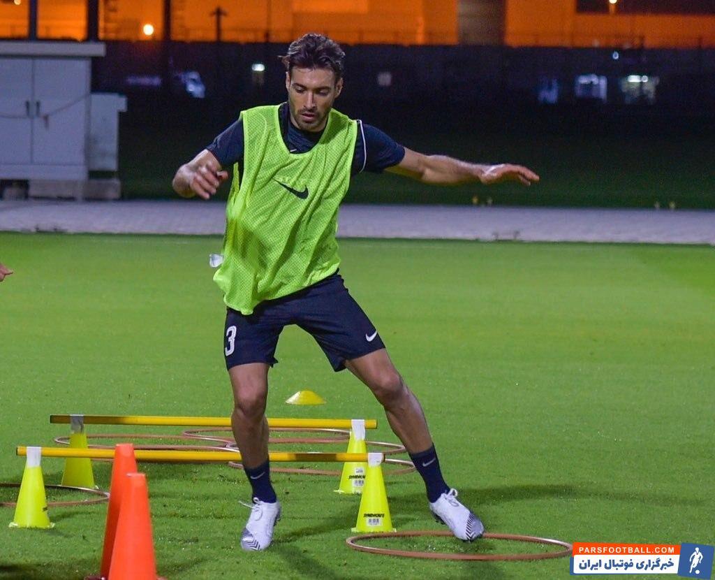 خلیلزاده یک هفته پس از عقد قرارداد رسمی با الریان قطر، از روز گذشته در تمرین این باشگاه حضور یافت و کنار هم تیمی های جدیدش به تمرین پرداخت.