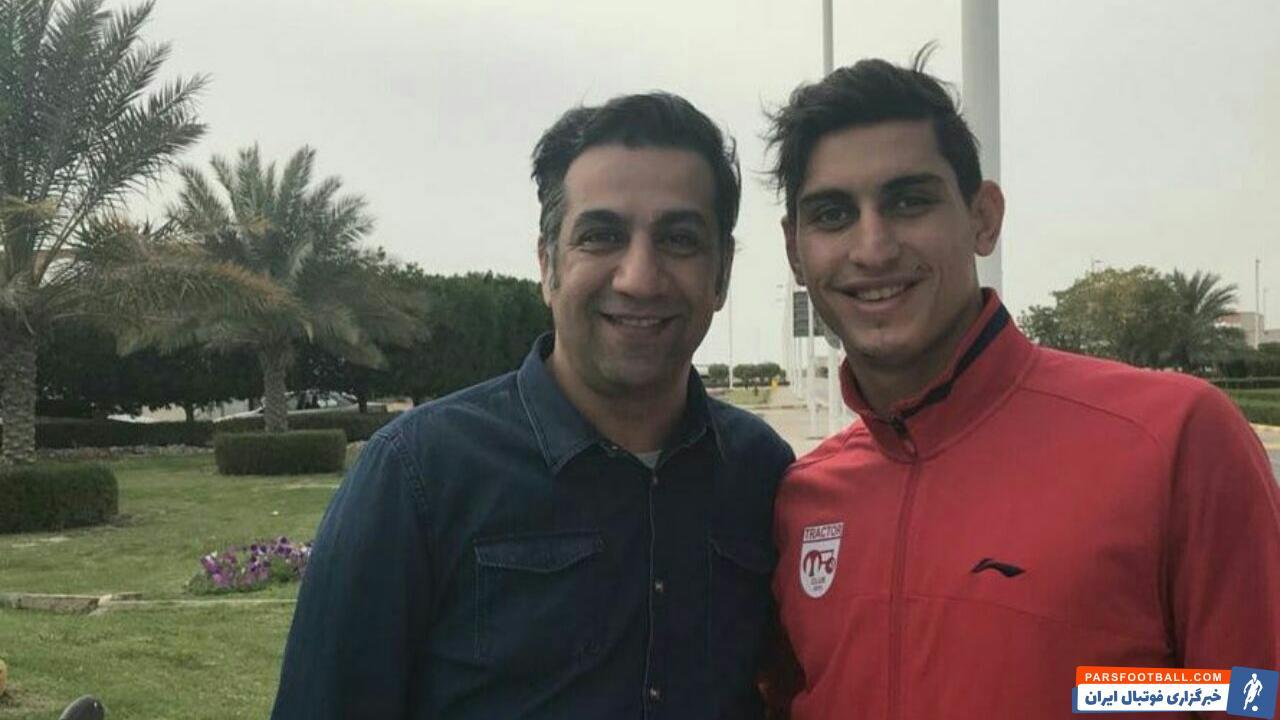 محمد نادری و مشکل حضور در تمرینات استقلال