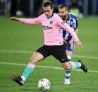 آنتوان گریزمان ستاره فرانسوی بارسا بالاخره در ششمین بازی بارسا در لالیگا موفق به گلزنی شد.