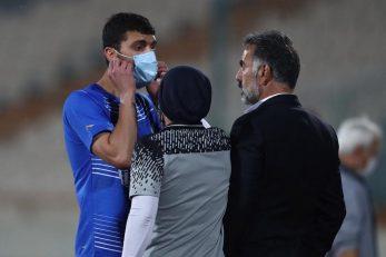 محمد دانشگر مدافع بوشهری آبی ها در دیدار روز گذشته مقابل مس رفسنجان فرصت کمی برای حضور در زمین مسابقه پیدا کرد.