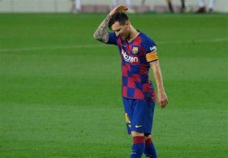 ضرر هنگفت بارسلونا از جدایی لیونل مسی