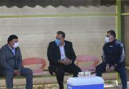 جلسه احمد مددی با بازیکنان استقلال