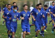 تمرینات استقلال تهران در غیاب آرش رضاوند